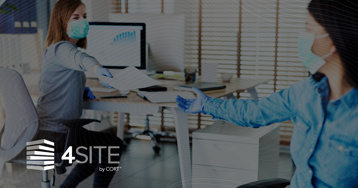 4SITE logo over photo of 2 women in an office